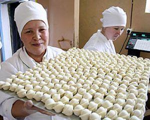 Виробництво пельменів в М'ясна магазині