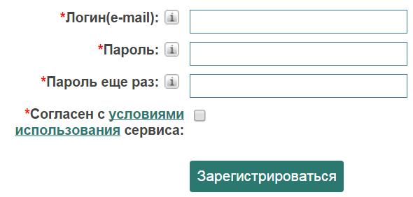 Заробіток на реєстрації на сайтах в інтернеті без вкладень