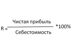 Рентабельність - то багато, формули, як розрахуваті и підвіщіті