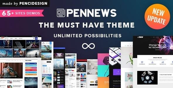 Кращі теми для WordPress - PenNews